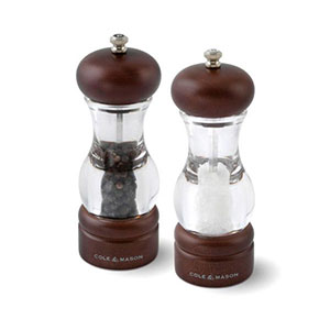 Cole & Mason 105 Forest Salt & Pepper Gift Set with Refills - H105712PU
