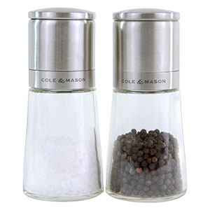 Cole & Mason Clifton Salt & Pepper Mill Gift Set - H306888PU