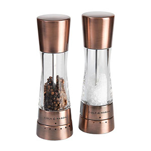 Cole & Mason Derwent Salt & Pepper Gift Set, Copper